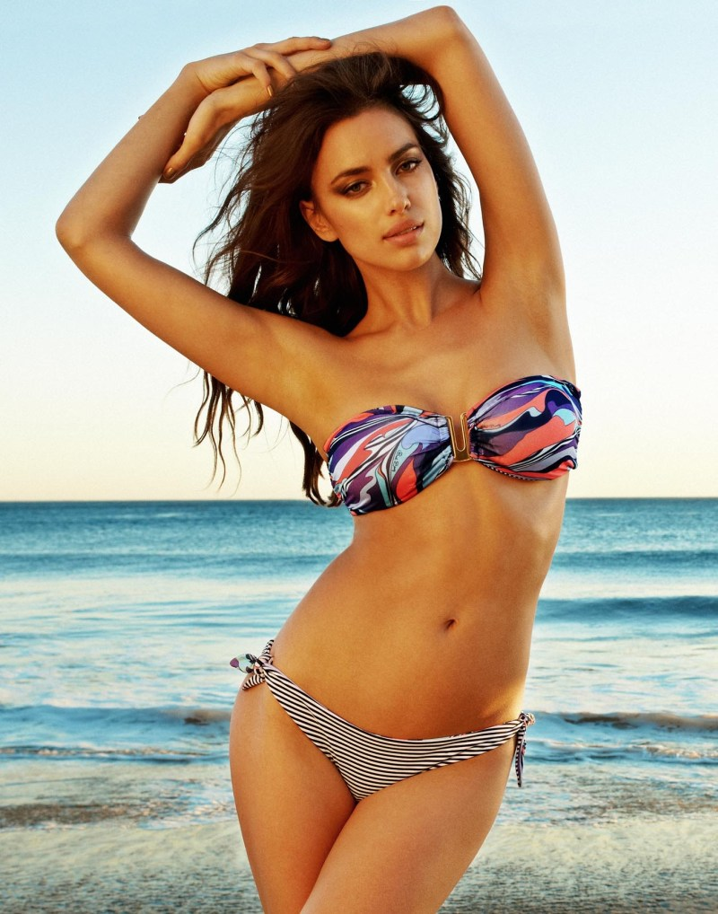 IrinaShaykBeachBunny14 Irina Shayk Sizzles in Beach Bunnys Summer 2013 Campaign