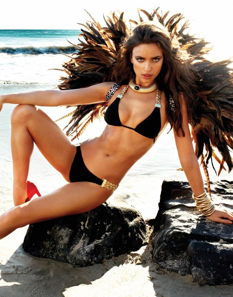 IrinaShaykBeachBunny23 Irina Shayk Sizzles in Beach Bunnys Summer 2013 Campaign