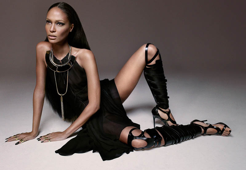 JoanSmallsModernWeekly11 Joan Smalls is Bad Girl Chic for Modern Weekly China by John Paul Pietrus