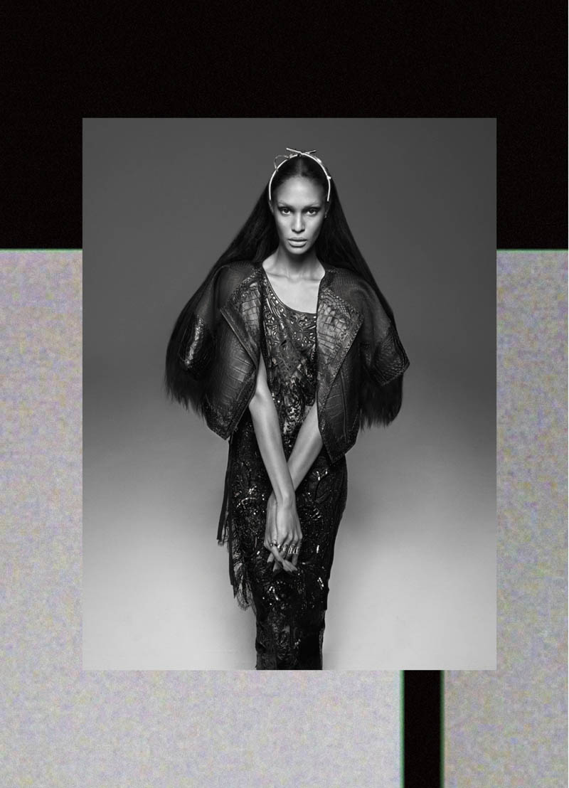 JoanSmallsModernWeekly3 Joan Smalls is Bad Girl Chic for Modern Weekly China by John Paul Pietrus