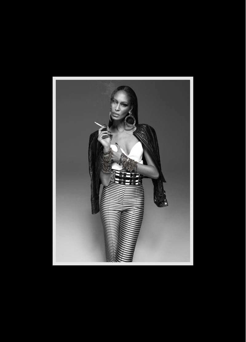 JoanSmallsModernWeekly5 Joan Smalls is Bad Girl Chic for Modern Weekly China by John Paul Pietrus