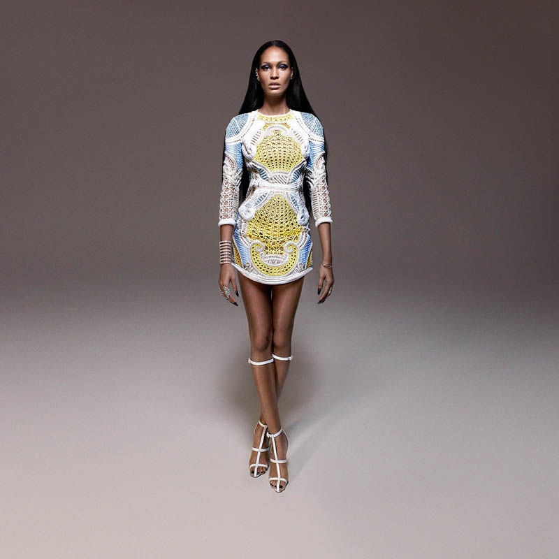 JoanSmallsModernWeekly9 Joan Smalls is Bad Girl Chic for Modern Weekly China by John Paul Pietrus