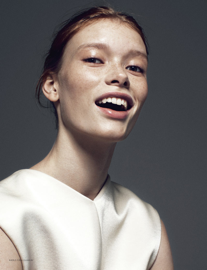 JuliaHafstromCover5 Julia Hafstrom Dons Modern Cool For Cover Magazine By Andreas Ohlund
