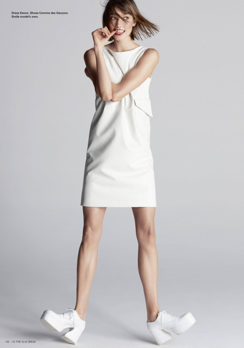 KarlieKlossID4 Karlie Kloss Graces the Pages of i Ds Spring Issue
