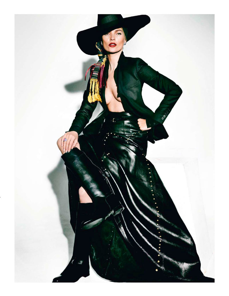 KateMossMarioTestino1 Kate Moss Celebrates Peruvian Style with Mario Testino for Vogue Paris April 2013