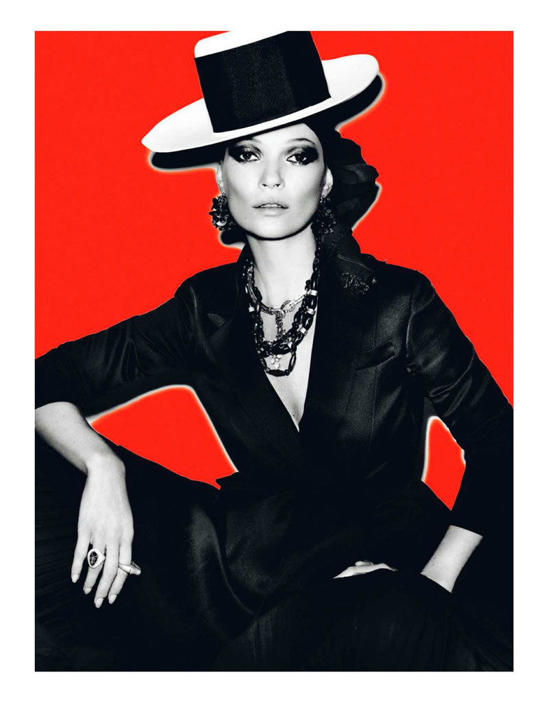 KateMossMarioTestino2 Kate Moss Celebrates Peruvian Style with Mario Testino for Vogue Paris April 2013