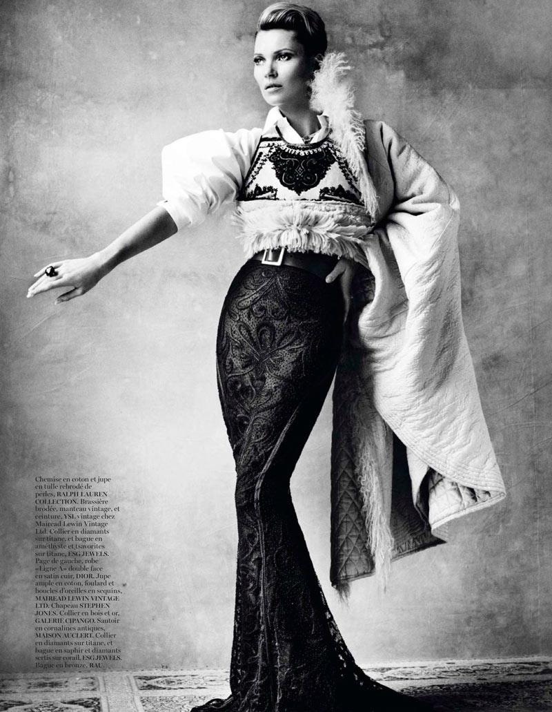Kate Moss Celebrates Peruvian Style with Mario Testino for Vogue Paris April 2013