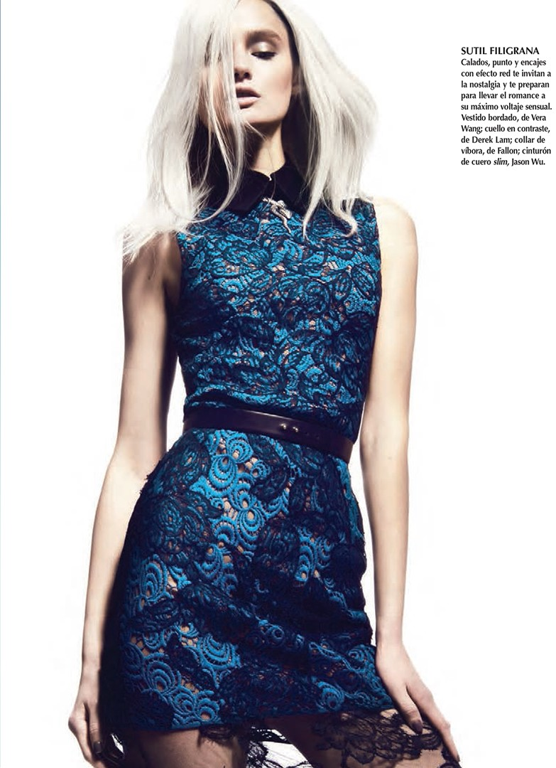 KatieFogartyKevinSinclair4 Katie Fogarty Wears Eclectic Fashions for Kevin Sinclair in Vogue Latin America May 2013
