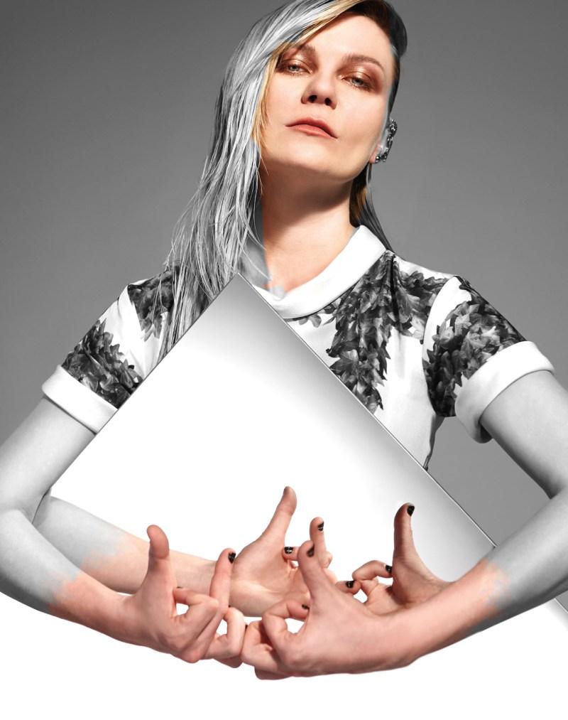 KristenDunstBullett1 Kirsten Dunst Dons Rodarte for Bullett Magazines Spring 2013 Cover