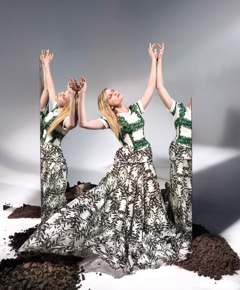 KristenDunstBullett3 Kirsten Dunst Dons Rodarte for Bullett Magazines Spring 2013 Cover