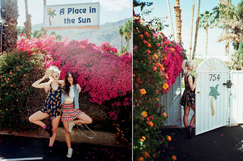 LFStoresLB12 Hannah Holman and Chelsea Tyler Have Summer Fun for LF Stores Festival Lookbook