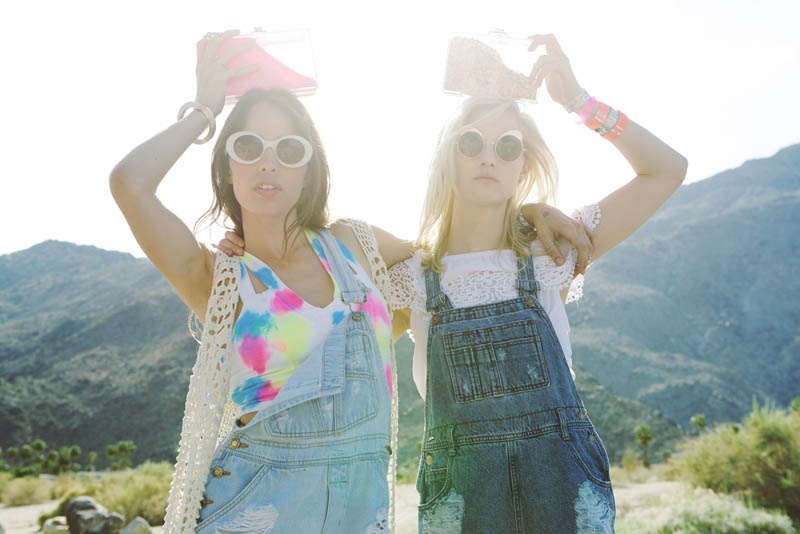 LFStoresLB16 Hannah Holman and Chelsea Tyler Have Summer Fun for LF Stores Festival Lookbook