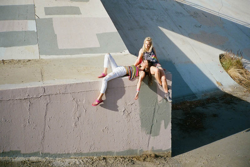 LFStoresLB20 Hannah Holman and Chelsea Tyler Have Summer Fun for LF Stores Festival Lookbook