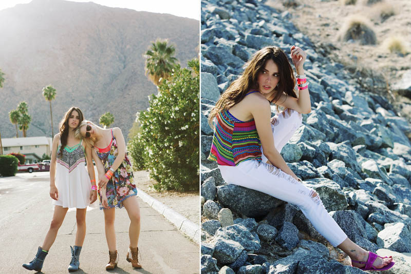 LFStoresLB23 Hannah Holman and Chelsea Tyler Have Summer Fun for LF Stores Festival Lookbook