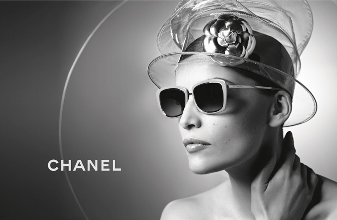 Laetitia Casta wearing CHANEL 4203 sunglasses