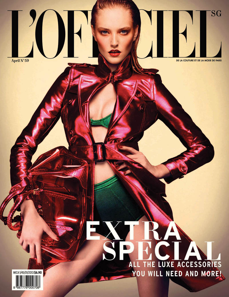 LofficielSingapore14 Kait Young Stars In LOfficiel Singapore April 2013 By Chuando & Frey
