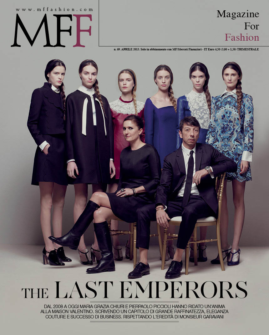 MFF69 cover LR MF Fashion Celebrates Valentino with April 2013 Cover Story