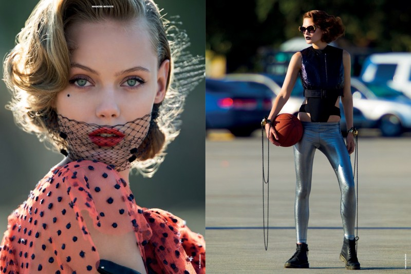 Daphne Groeneveld, Barbara Palvin, Frida Gustavsson and More Take to the Streets for Antidote S/S 2013 Preview