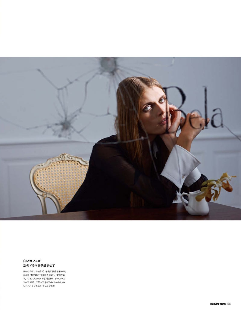 Malgosia Bela Poses for Eric Guillemain in Numéro Tokyo's May Issue