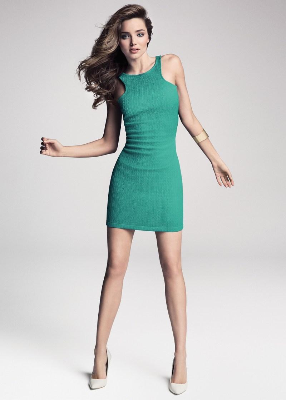 MangoMirandaKerr3 Miranda Kerr Fronts Mango Summer 2013 Campaign