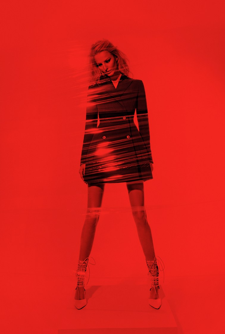 MichaelaKTopFashion11 Michaela Kocianova Poses for Branislav Simoncik in Top Fashion Magazine