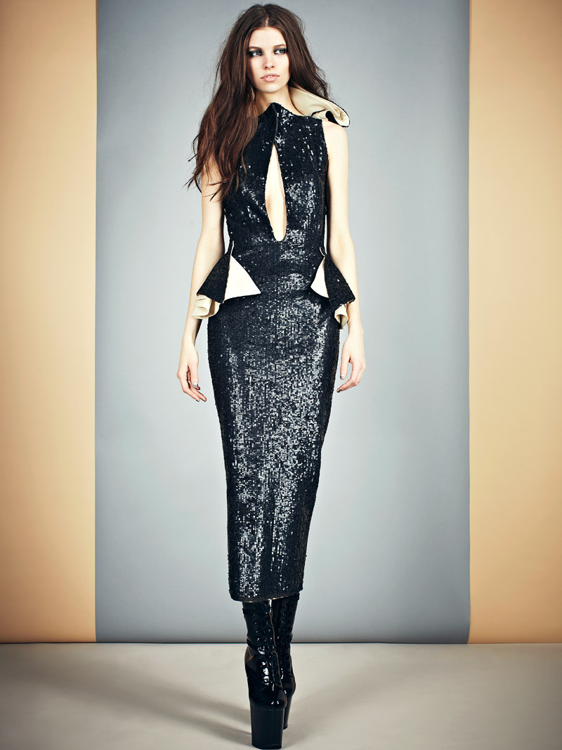 MikaelKaleFW7 Mikhael Kales Sleek and Modern Fall/Winter 2013 Collection