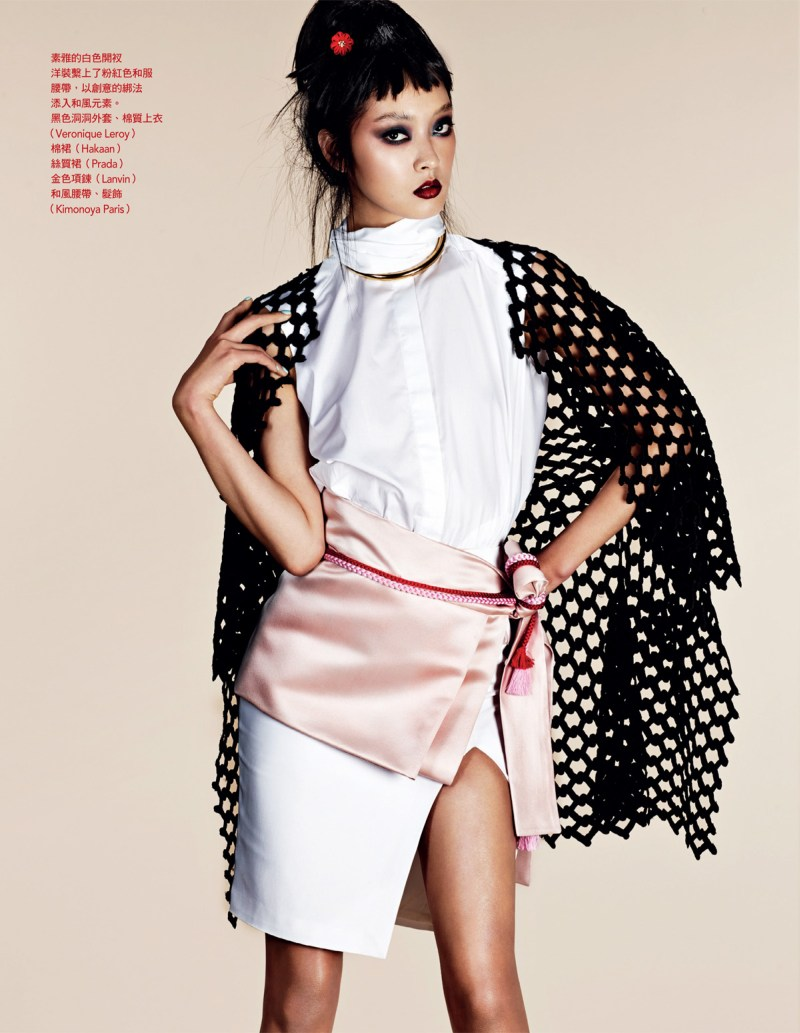 NaomiYangVogueTaiwan3 So Young Kang is Eastern Glam for Vogue Taiwan April 2013 by Naomi Yang