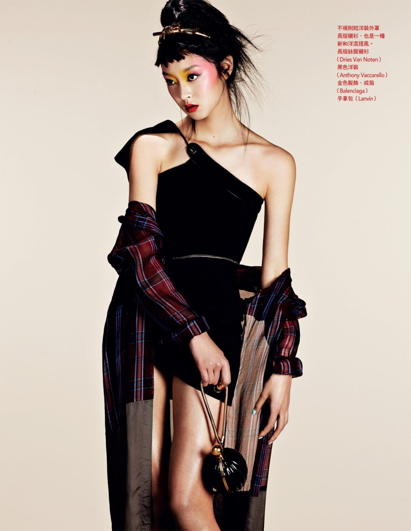 NaomiYangVogueTaiwan4 So Young Kang is Eastern Glam for Vogue Taiwan April 2013 by Naomi Yang