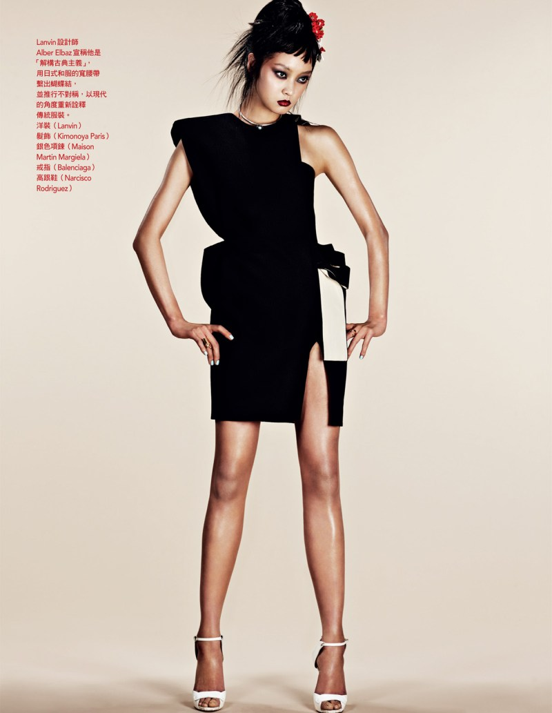 NaomiYangVogueTaiwan5 So Young Kang is Eastern Glam for Vogue Taiwan April 2013 by Naomi Yang