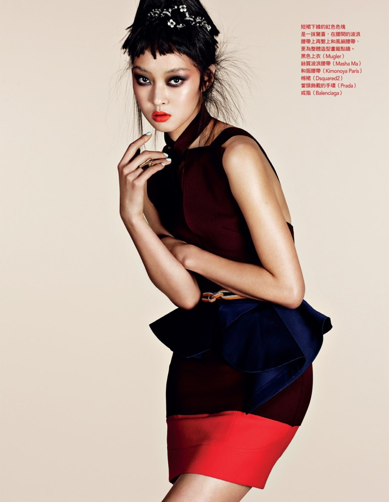 NaomiYangVogueTaiwan6 So Young Kang is Eastern Glam for Vogue Taiwan April 2013 by Naomi Yang