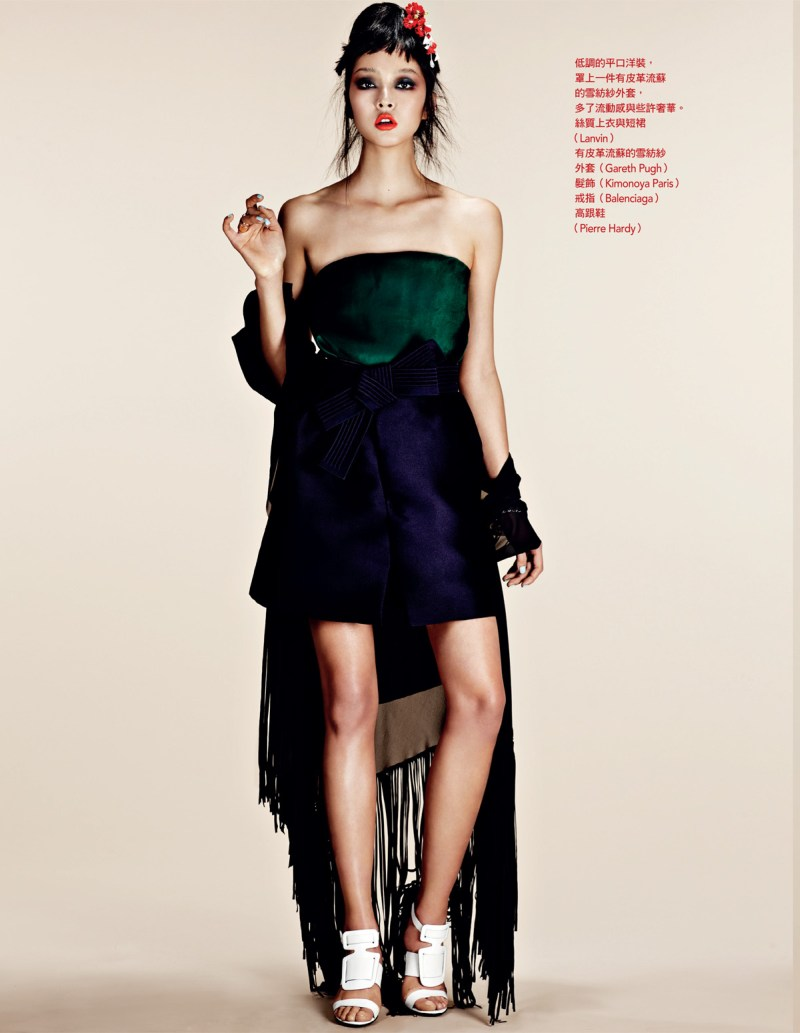 NaomiYangVogueTaiwan7 So Young Kang is Eastern Glam for Vogue Taiwan April 2013 by Naomi Yang