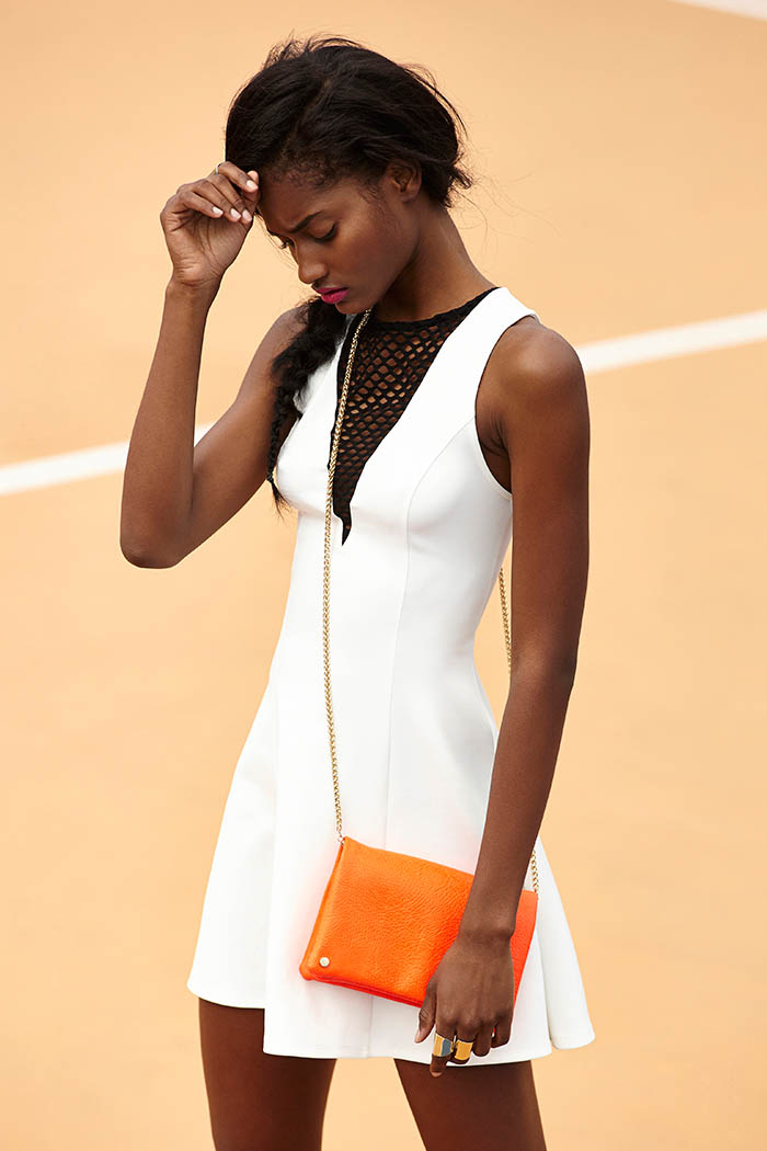 NastyGal APRILlookbook 07 Melodie Monrose is Sporty Chic for Nasty Gals April Lookbook