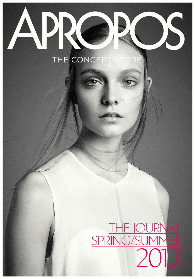 Nimue Smit Is Ladylike For Apropos Journal S Spring Summer