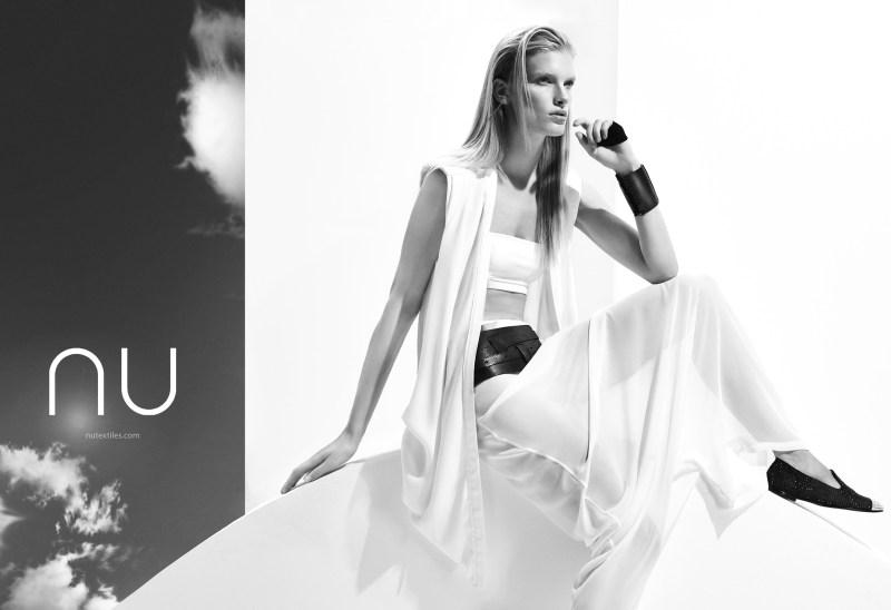 NuTextile1 Ilse de Boer Models for NU's Spring 2013 Campaign by Nihat Odabasi