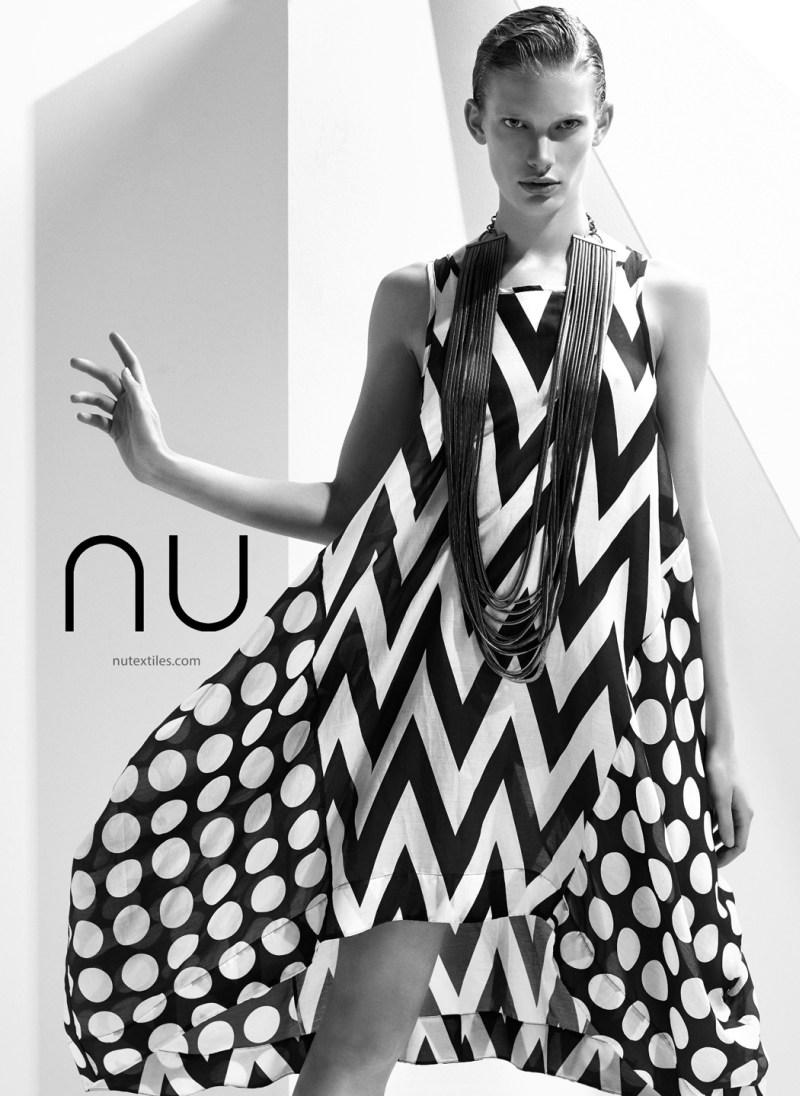NuTextile3 Ilse de Boer Models for NU's Spring 2013 Campaign by Nihat Odabasi