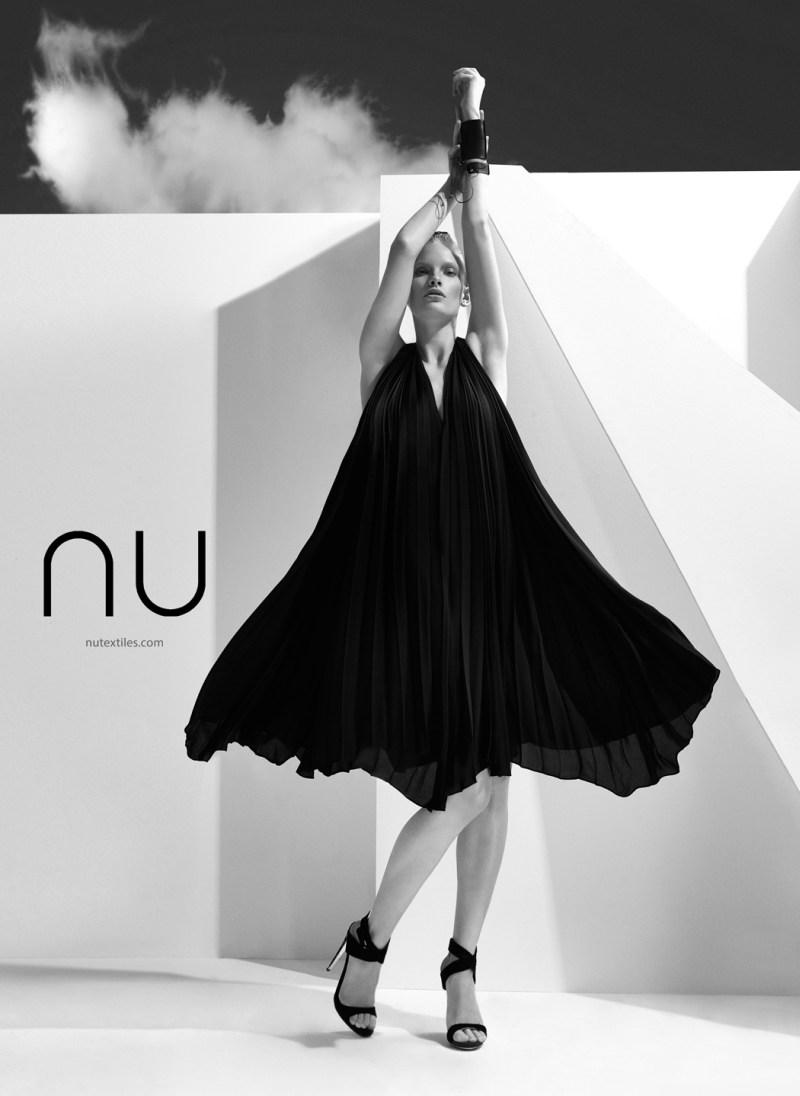 NuTextile5 Ilse de Boer Models for NU's Spring 2013 Campaign by Nihat Odabasi
