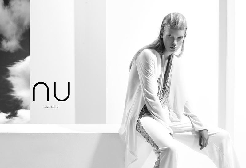 NuTextile6 Ilse de Boer Models for NU's Spring 2013 Campaign by Nihat Odabasi