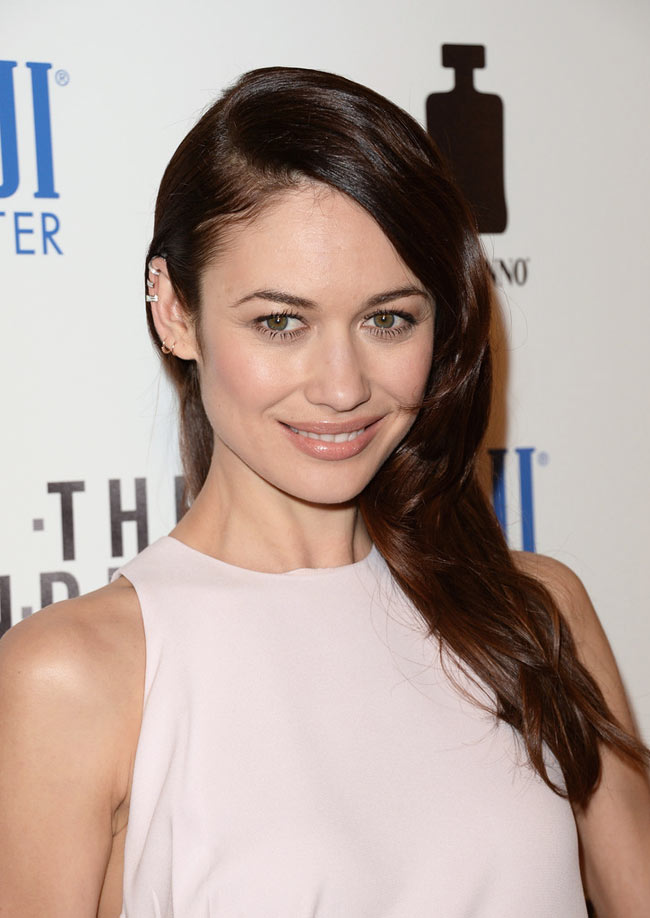 "Olga Kurylenko is Lovely in Dior at the ""To The Wonder"" Premiere"