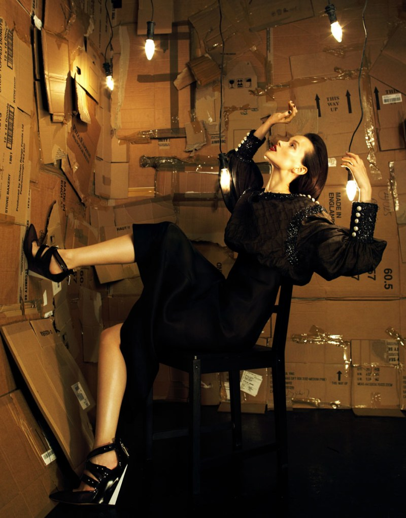 RanyaBag2 Ranya Mordanova Stars in Lady Baglady by Nikolay Biryukov