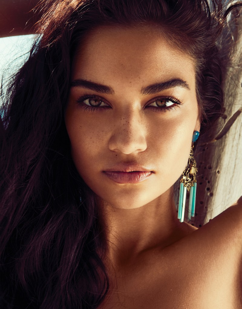 RevolveShaninaShaik10 Shanina Shaik Soaks up the Sun for Revolve Clothings Summer 2013 Lookbook