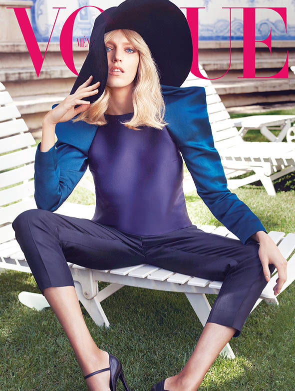 Sarah Gore Reeves Vogue Mexico Anja Rubik 03 Anja Rubik Wears Spring Style for Vogue Mexico's May 2013 Edition