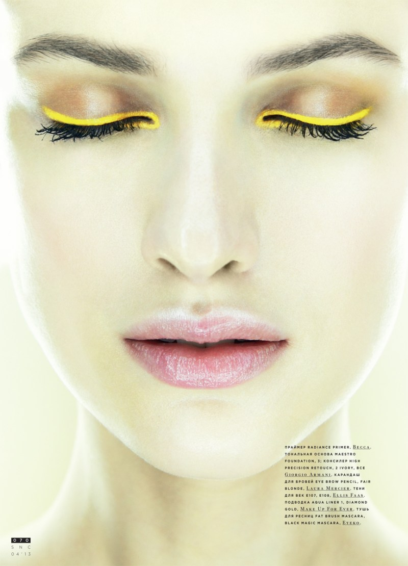 SnCBeauty2 Maria Kashleva Gets Up Close and Personal with Nikolay Biryukov for SnC April 2013