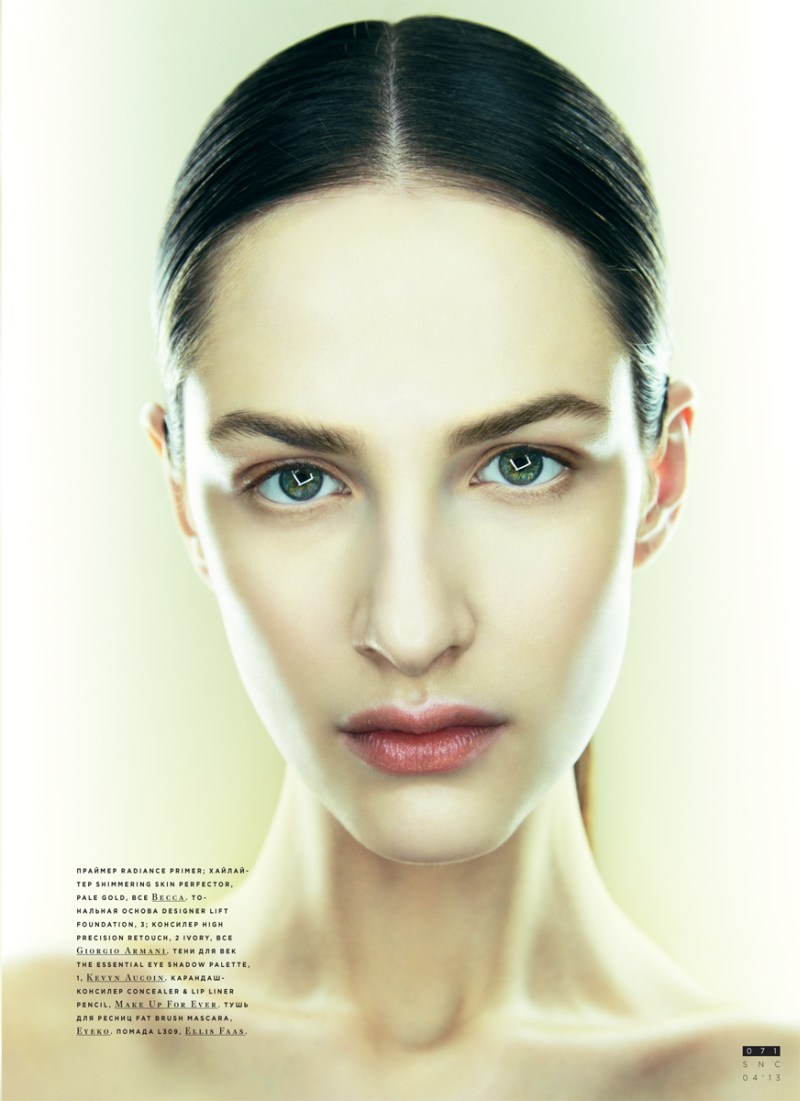 SnCBeauty3 Maria Kashleva Gets Up Close and Personal with Nikolay Biryukov for SnC April 2013