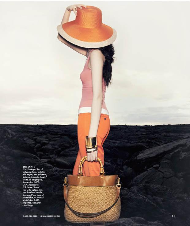 SuiHeNM15 Sui He is An Island Beauty for Neiman Marcus May 2013 Issue of The Book