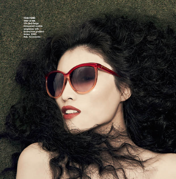 SuiHeNM19 Sui He is An Island Beauty for Neiman Marcus May 2013 Issue of The Book