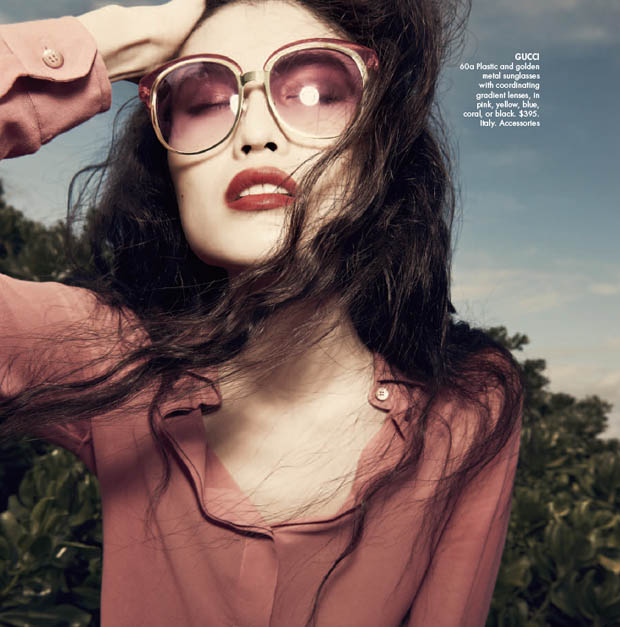 SuiHeNM20 Sui He is An Island Beauty for Neiman Marcus May 2013 Issue of The Book