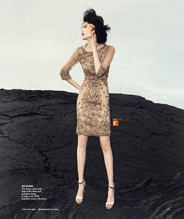 SuiHeNM7 Sui He is An Island Beauty for Neiman Marcus May 2013 Issue of The Book
