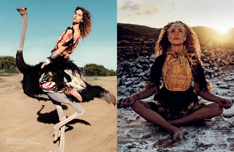 V12 serie petrovskyramone 9 10 Erin Wasson is a Wild Child for Vogue Netherlands May 2013 by Petrovsky & Ramone