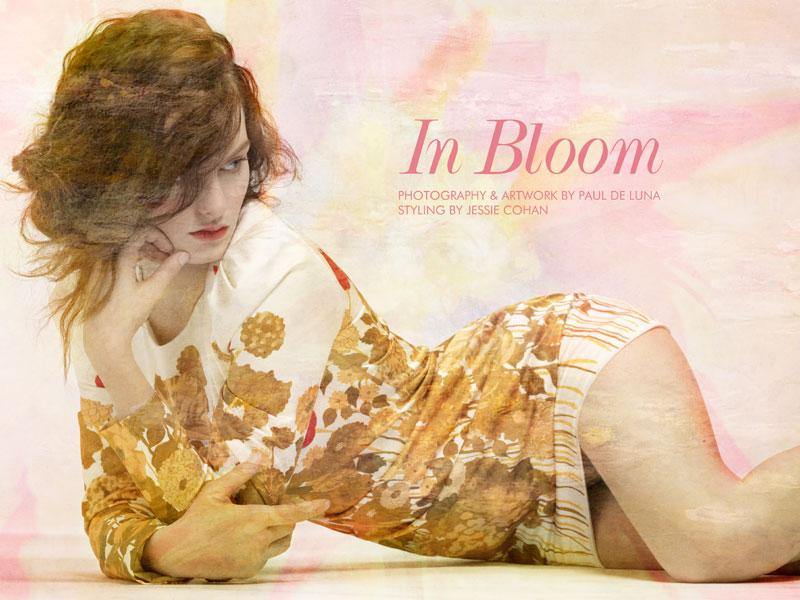 """Ali Lagarde by Paul de Luna in """"In Bloom"""" for Fashion Gone Rogue"""