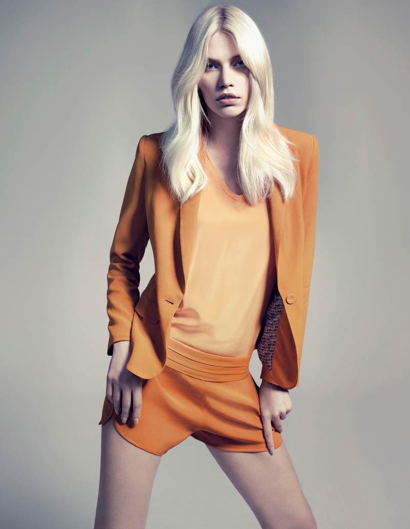aline weber abrand10 Aline Weber Shines in A.Brand Fall 2013 Campaign